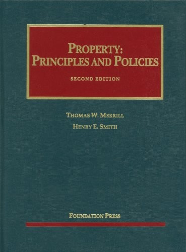 Property: Principles and Policies, 2d