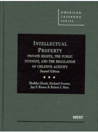 Intellectual Property, Private Rights, the Public Interest, and the Regulation of Creative Activity, 2d