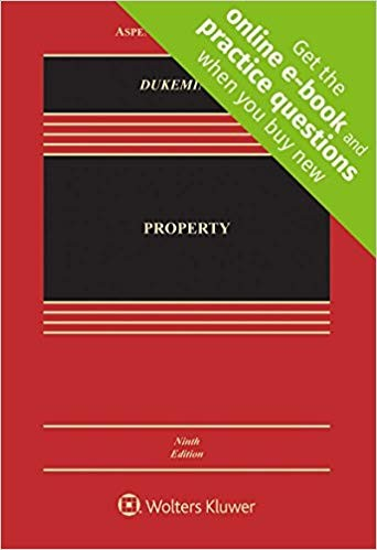 Property [Connected Casebook] (Aspen Casebook) 9th Edition